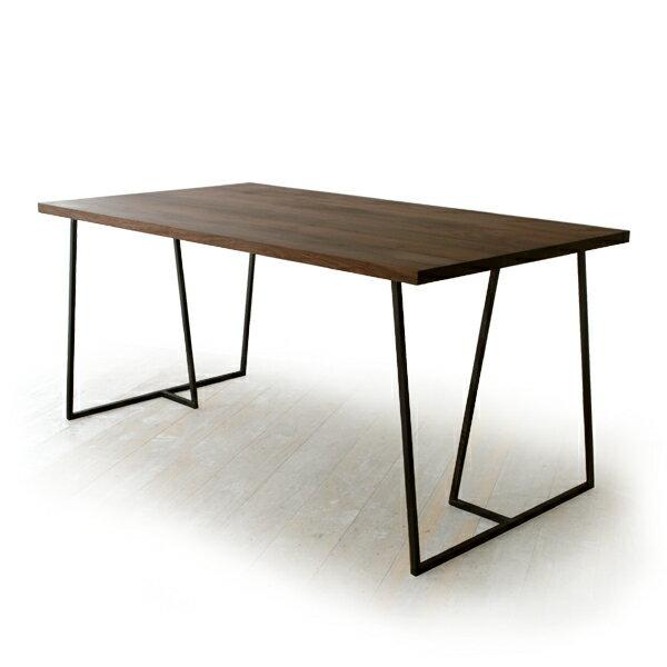 杉山製作所 SUMI DINING TABLE 150(cc-wn)【スミダイニングテーブル/クロテツ/アイアン/岐阜県】