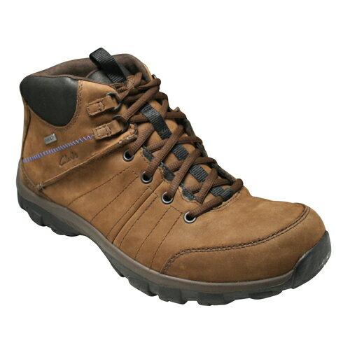 【Clarks(クラークス)】快適な素材と機能を搭載したカジュアルシューズ・QUANTOKUP GTX(クウォントックアップGTX)・850C(ブラウン)20352457/メンズ 靴
