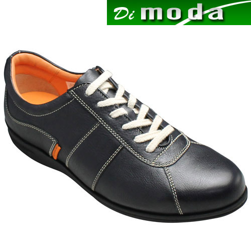 カステルバジャック 牛革スニーカー CA12164(ブラック)/メンズ 靴