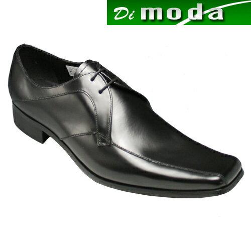 【KATHARINE HAMNETT (キャサリン ハムネット)】人気デザインが再登場・スクウェアトゥのロングノーズ(スワールトゥ)・KH3948(ブラック)/メンズ 靴