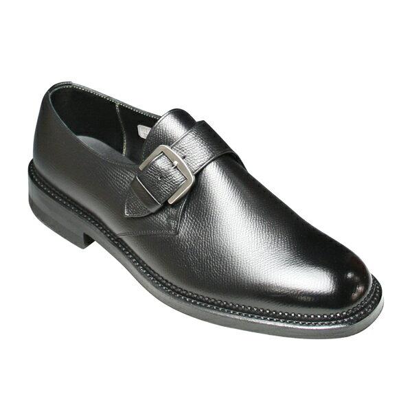 【REGAL(リーガル)】 ビジネスシューズ(冬底タイプ) ・サイドモンク 2321(ブラック)/メンズ 靴