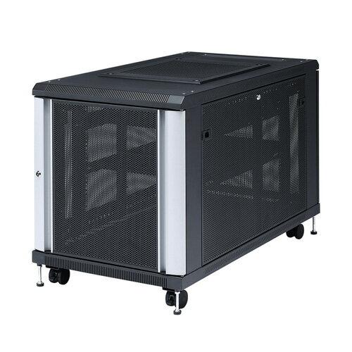 【訳あり 新品】19インチマウントサーバーラック(12U) ※箱にキズ、汚れあり CP-SVC12U サンワサプライ【送料無料】