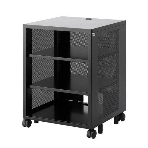 ルーター・LANハブ・HDD・NAS収納ボックス(機器収納・メッシュパネル・高さ700mm)【代引き不可商品】 CP-SBOX2 サンワサプライ【送料無料】