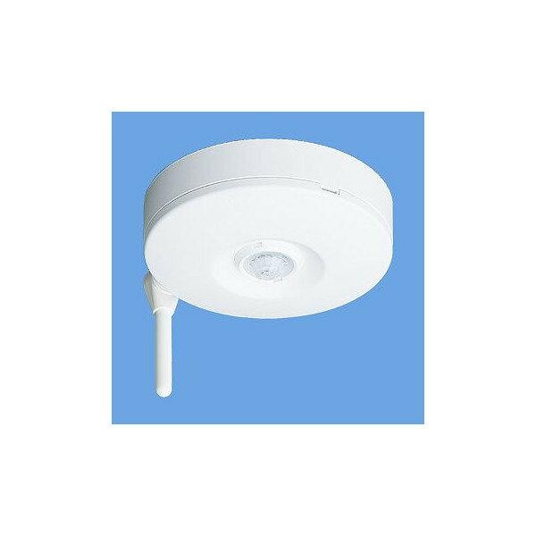 パナソニック eワイヤレスシリーズ 熱線センサ発信器(天井取付・広角検知形)ホワイト WTE2612