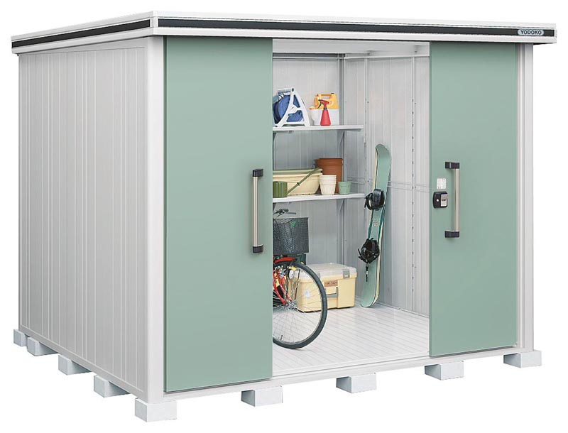 ヨド物置エルモ  LMD-2925H 背高Hタイプ 一般中・大型物置 屋外 物置き 送料無料 防災保管庫