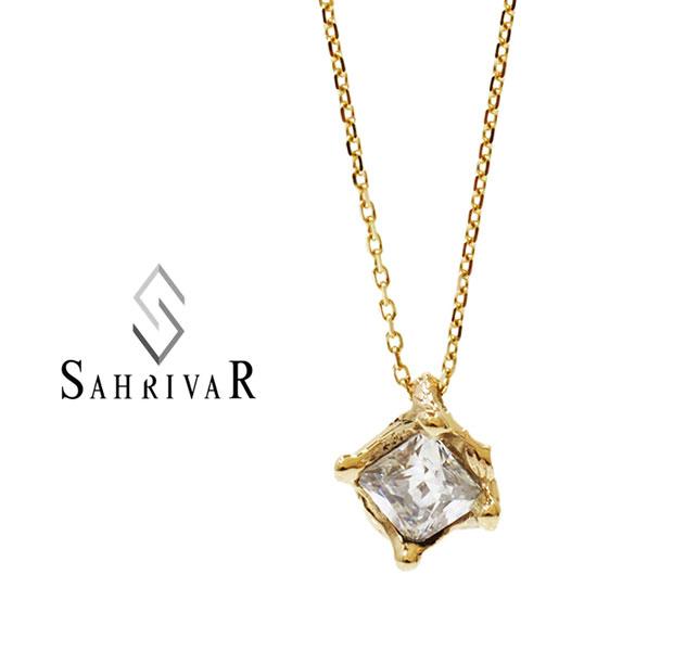 SAHRIVAR シャフリーバル SN58S14S K10 ゴールド ネックレス