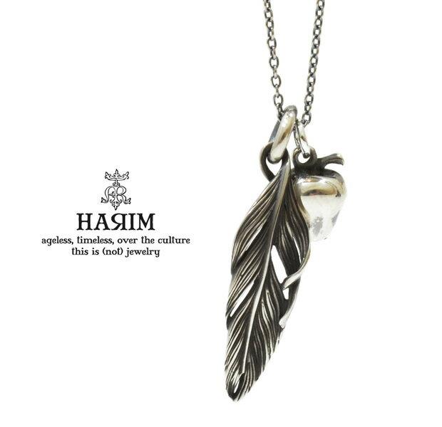 HARIM ハリム  HRP042 necklaceシルバー フェザー アップル ネックレス