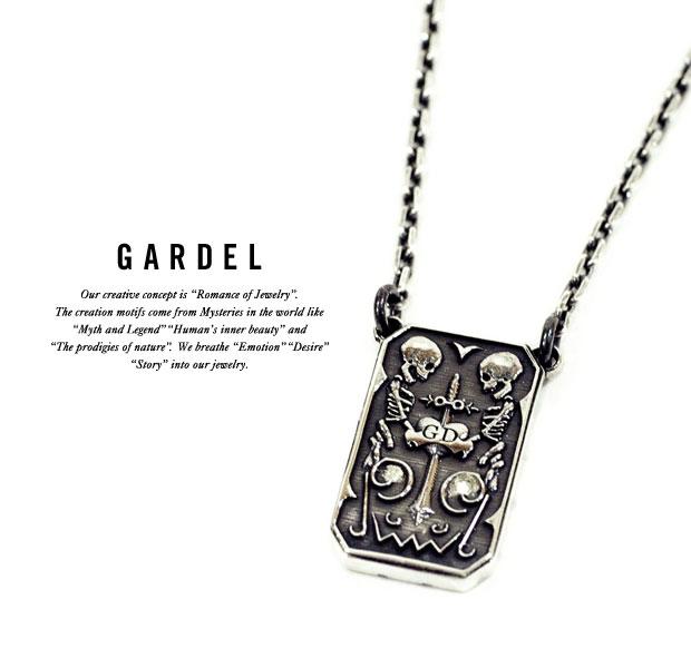 GARDEL ガーデルgdp083ETICA NECKLACESKULL/スカル/ネックレスsilver925/シルバー天然石/ダイヤモンドジュエリー/アクセサリー