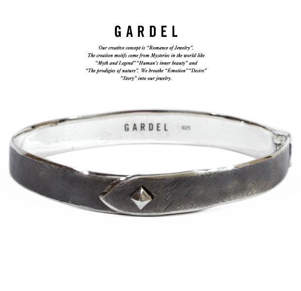GARDEL ガーデルgdb047 HAND CRUSH BRACELETBracelet/ブレスレット/バングルSilver925/シルバーシンプルメンズ/レディース/アクセサリー