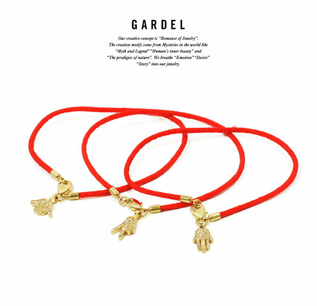 GARDEL ガーデル  gdb066 HAND AMULET BRACELET    BRACELET/ブレスレットK18 GOLD/ゴールド天然石/ダイヤモンドメンズ/レディースアクセサリー/ジュエリー
