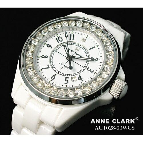 【ポイント10倍】[SB]ANNE CLARK フルセラミック レディースウォッチ AU1028.03WCS