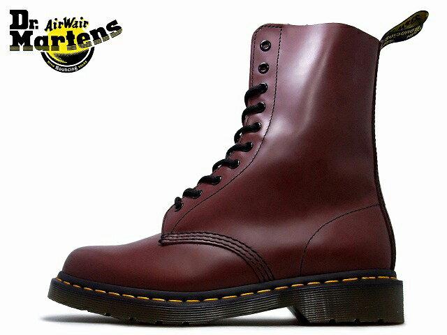 ドクターマーチン 10ホール レディース メンズ Dr.Martens 10EYE BOOTS 1490 (11857600)チェリーレッド【送料無料!】ladies men's boots
