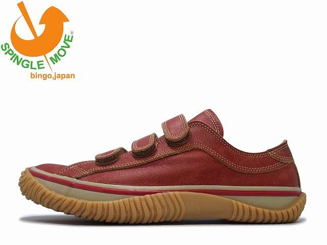 SPINGLEMOVE スピングルムーブ SPM-211 RED レッド クラッキング Made in Japan 広島 日本製【あす楽対応】