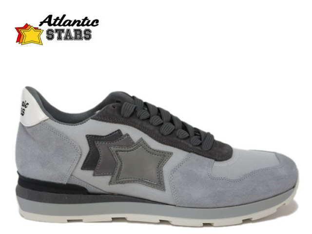 アトランティックスターズ メンズ Atrantic STARS ANTARES AGG-63N ライトグレー スニーカー 【送料無料】