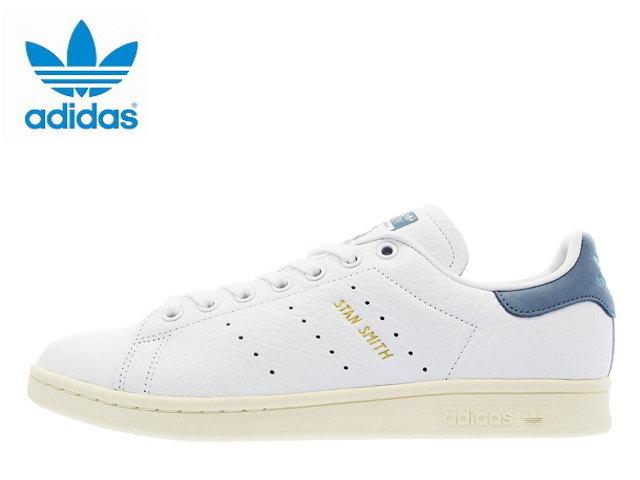 アディダス スタンスミス レディース ホワイト ADIDAS STANSMITH CP9701 ホワイト/ブルー スニーカー スニーカ sneaker【あす楽対応】【送料無料】