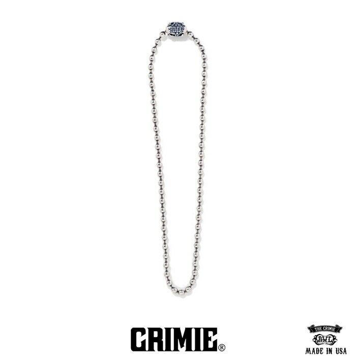 【CRIMIE】クライミー(CRIMIExBILL WALL LETHER)クライミー×ビルウォール レザー/BW CROSS BALL CHAIN ボールチェーンネックレス(23inc)