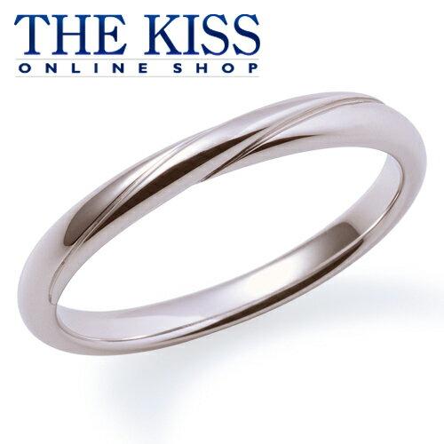 【あす楽対応】 【送料無料】【THE KISS sweets】【ペアリング】K18ホワイトゴールド リング (ユニセックス単品)☆ ゴールド ペア リング 指輪 ブランド GOLD Pair Ring couple