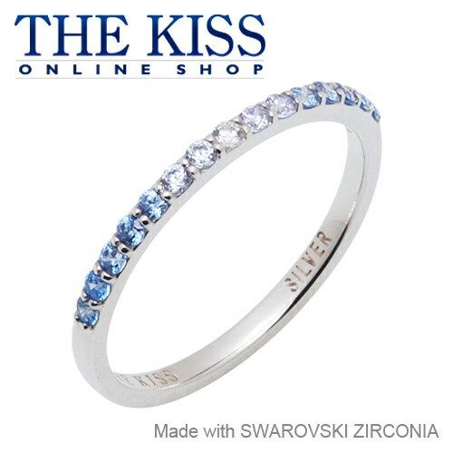 【あす楽対応】 THE KISS 公式サイト シルバー リング ハーフエタニティ ( レディース ) レディースジュエリー・アクセサリー ジュエリーブランド THEKISS リング・指輪 SR1269BL ザキス 【送料無料】