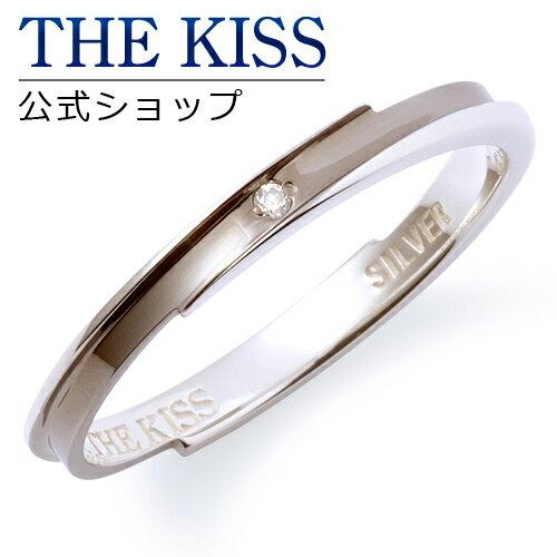 【あす楽対応】 THE KISS 公式サイト シルバー ペアリング (メンズ 単品 ) ダイヤモンド ペアアクセサリー カップル に 人気 の ジュエリーブランド THEKISS ペア リング・指輪 記念日 プレゼント SR6028DM ザキス 【送料無料】