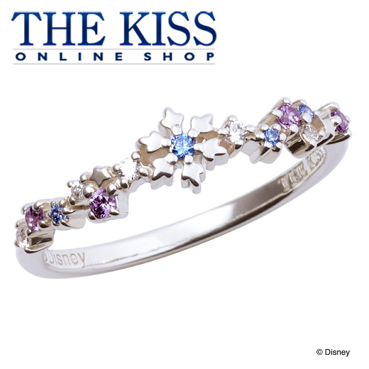 【あす楽対応】【ディズニーコレクション】 ディズニー / レディースリング / アナと雪の女王 / THE KISS リング・指輪 シルバー キュービックジルコニア (レディース) DI-SR2910CB ザキス 【送料無料】【Disneyzone】