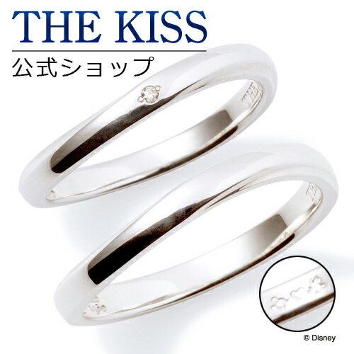 【あす楽対応】【ディズニーコレクション】 ディズニー / ペアリング / ミッキーマウス & ミニーマウス / THE KISS リング・指輪 シルバー DI-SR2913DM-2914 ザキス 【送料無料】【Disneyzone】