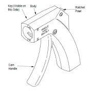 在庫品 TE Connectivety (AMP)工具 58074-1 MANUAL HANDLE W/O HEAD