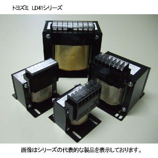 在庫品 トヨズミ 単相・複巻 トランス 400/4400V→100/110V LD41-500E 500VA