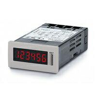 在庫品 オムロン H7GP-CB トータルカウンタ 48×24mm 6桁 AC100~240V 加算 EEP-ROMによるバックアップ リセットキー ブラック ねじ締め端子