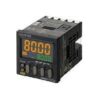 在庫品 オムロン H7CX-A4D-N プリセット/トータルプリセット電子カウンタ 48×48mm 1段設定 4桁 DC12~24V 接点出力1c ねじ締め端子