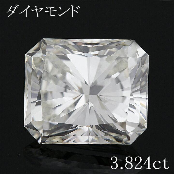 【返品可能】 【天然ダイヤモンド】【ダイヤモンド】【ダイヤ】3.824ct【ルース】diamond【ファンシーカット】【05P03Dec16】