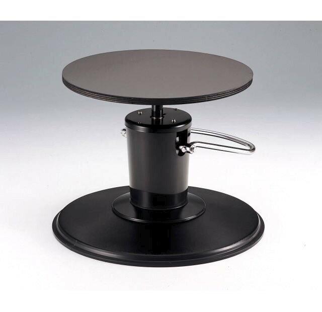 【送料無料】(沖縄県を除く)油圧式回転昇降台 ベース型 油圧式で高さ調整が可能!盆栽手入れ用、仕立て用に