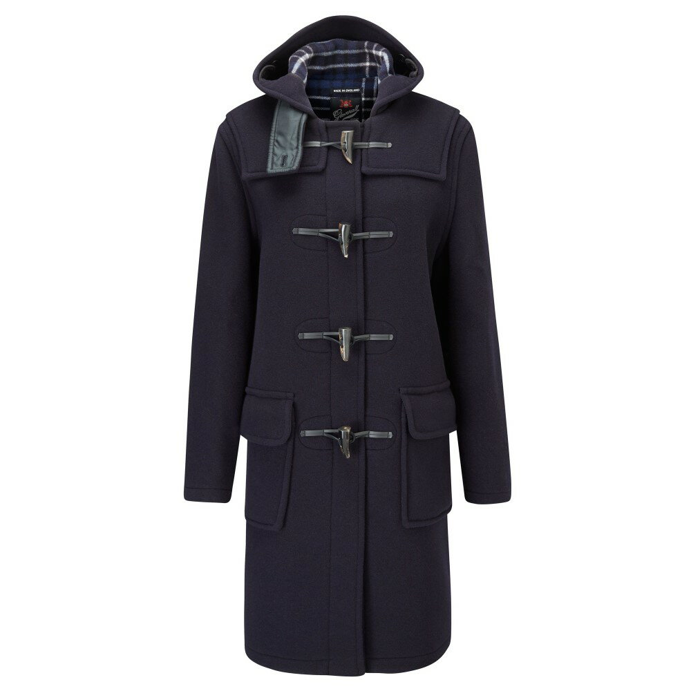 グローバーオール レディース アウター コート【Long Original Fit Duffle Coat】navy