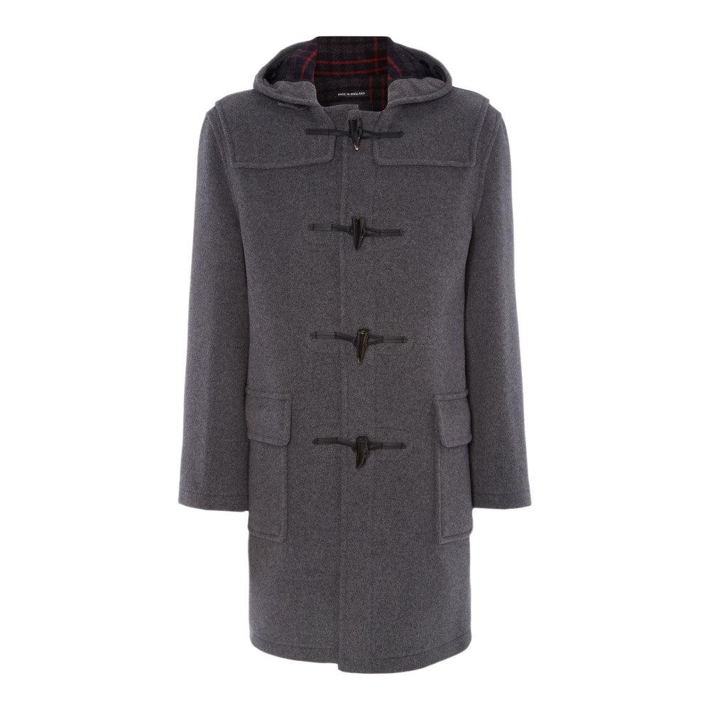 グローバーオール メンズ アウター コート【Classic Duffle Coat】grey