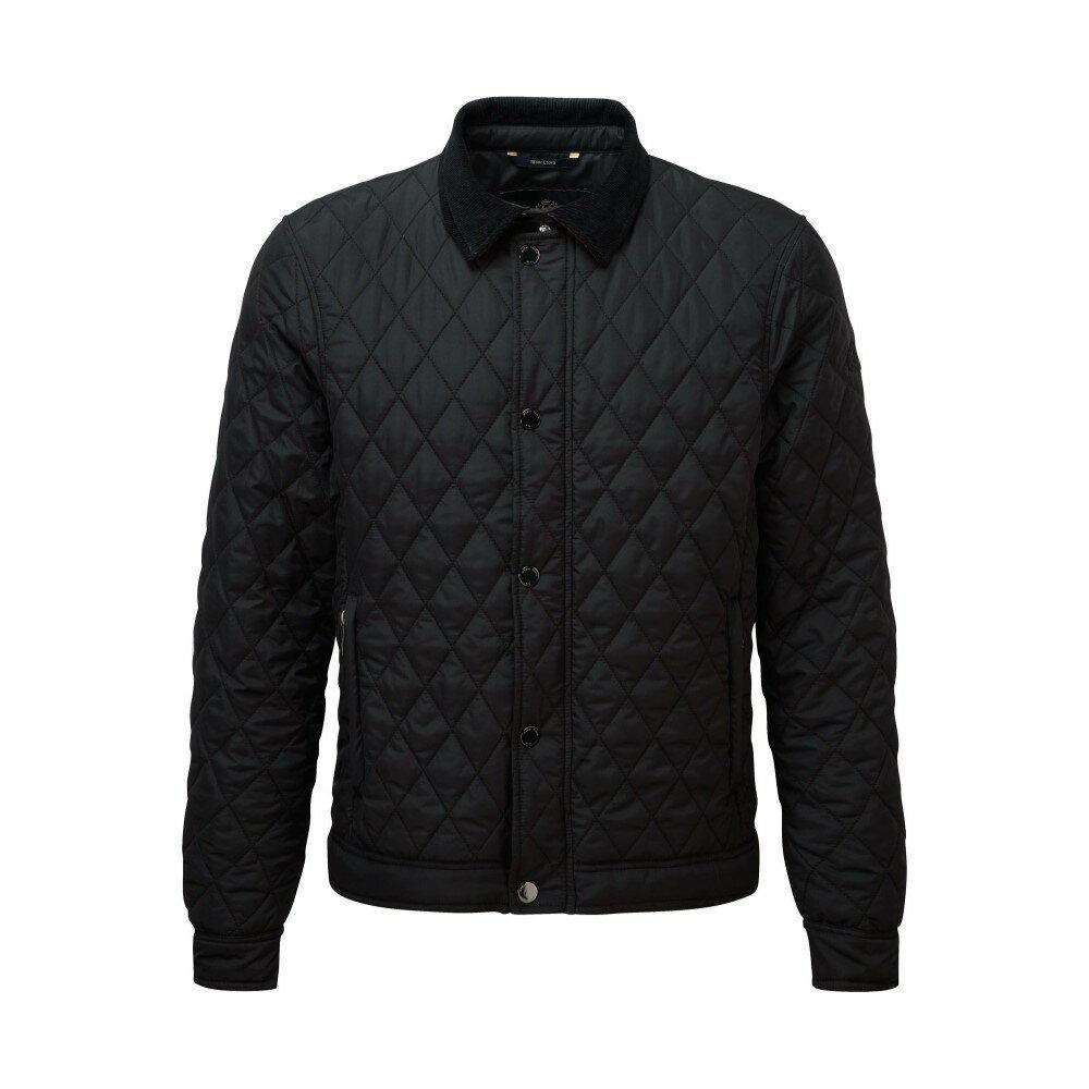 ヘンリーロイド メンズ アウター ジャケット【Inver Quilted Jacket】jet black