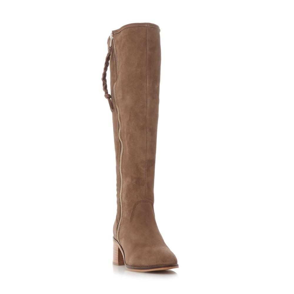 スティーブ マデン レディース シューズ・靴 ブーツ【Lasso Zip Detail Knee Boots】taupe