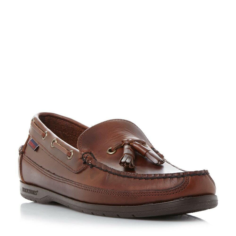 セバゴ メンズ シューズ・靴 ドライビングシューズ【Ketch Tassel Moccasin Shoes】brown