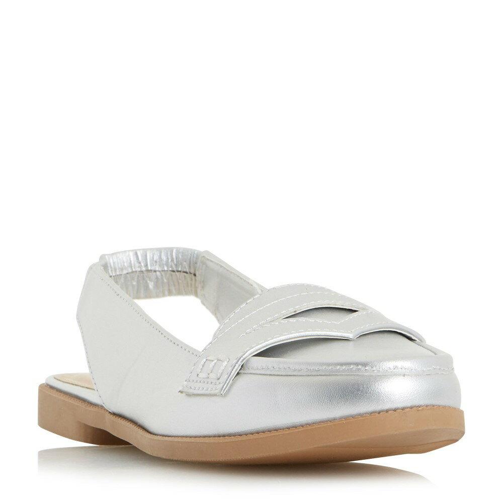 ヘッドオーバーヒールズ レディース シューズ・靴 ローファー・オックスフォード【Glyndas Slingback Loafer Shoe】silver