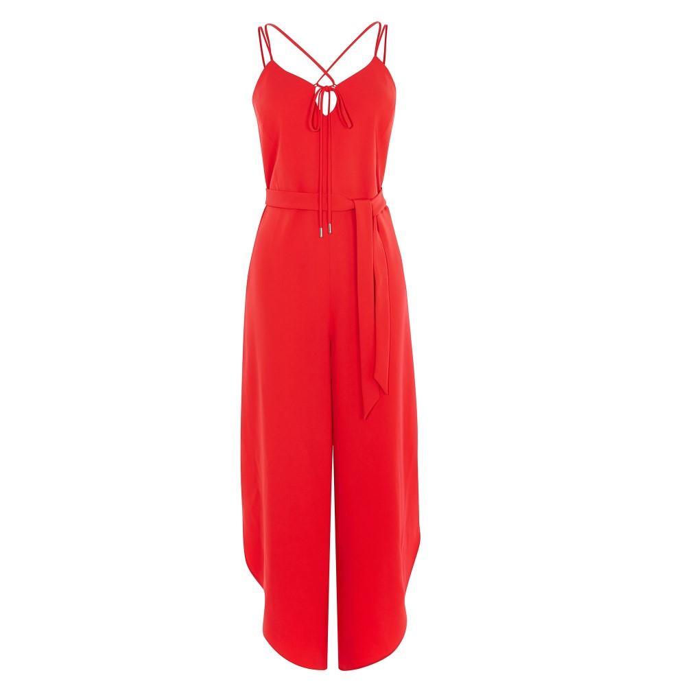 カレンミレン レディース ワンピース・ドレス オールインワン【Strappy Jumpsuit】red