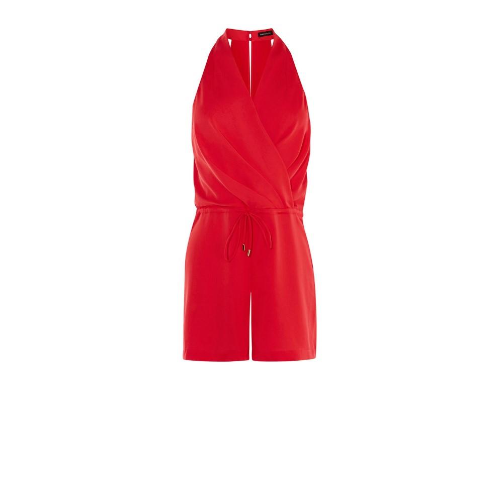 カレンミレン レディース ワンピース・ドレス オールインワン【Halterneck Playsuit】red