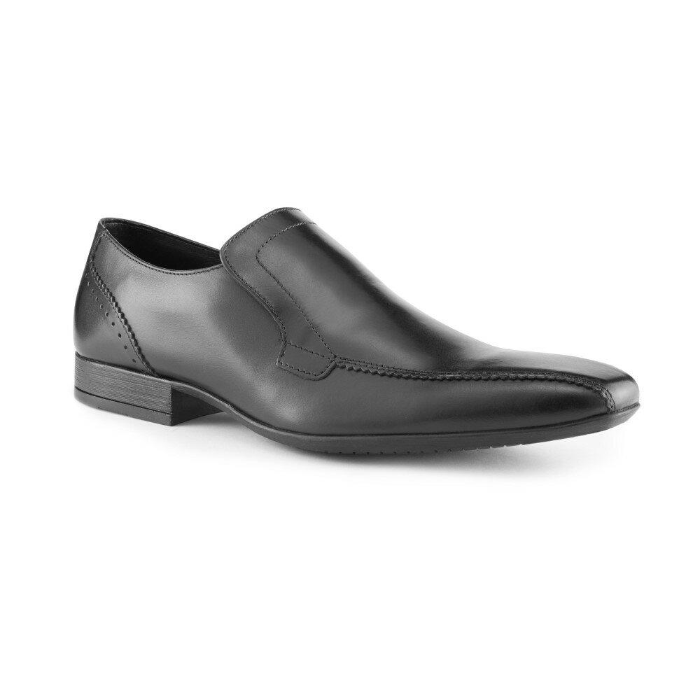スコープス メンズ シューズ・� ��・ビジ�スシューズ�Slip On Shoes】black