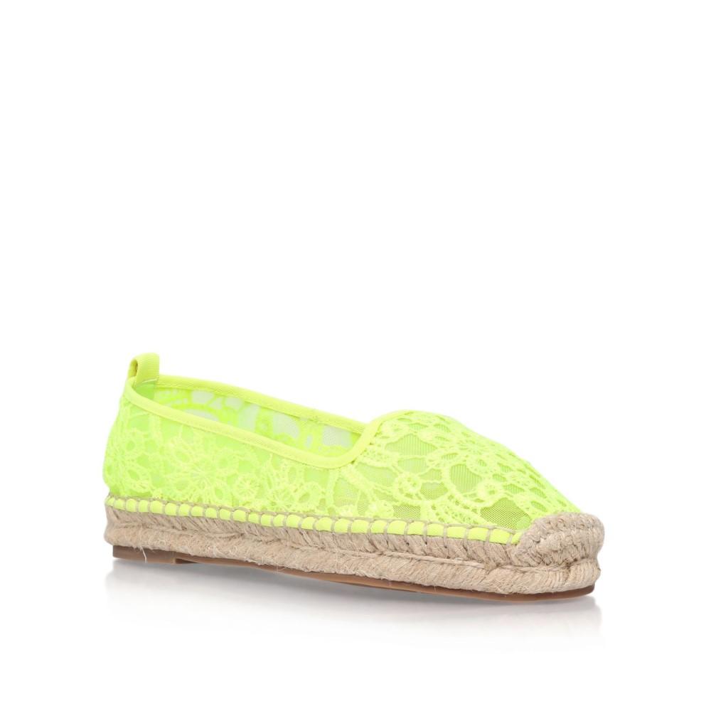 KG カートジェイガー レディース シューズ・靴 エスパドリーユ【Mimosa Flat Slip On Espadrilles】yellow