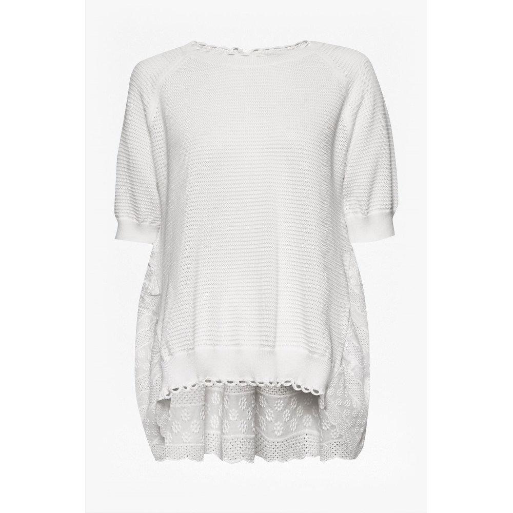 フレンチコネクション レディース トップス ニット・セーター【Celia Scallop Knitted Jumper】white