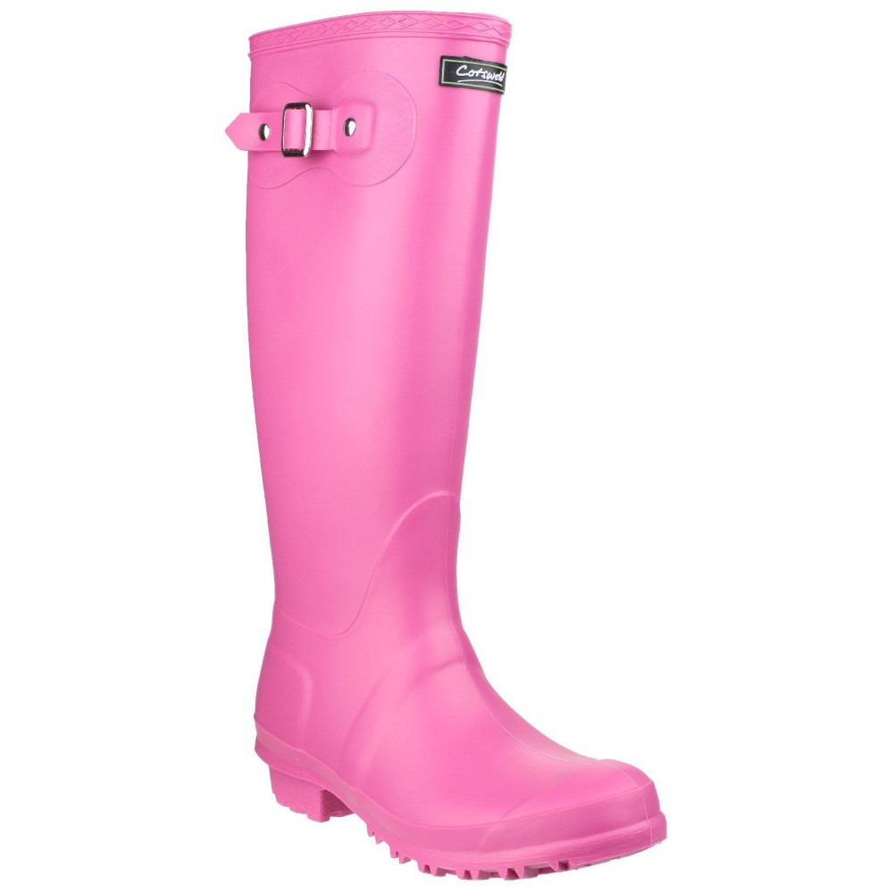 コッツウォルド レディース シューズ・靴 ブーツ【Sandringham Wellington Boots】fuchsia
