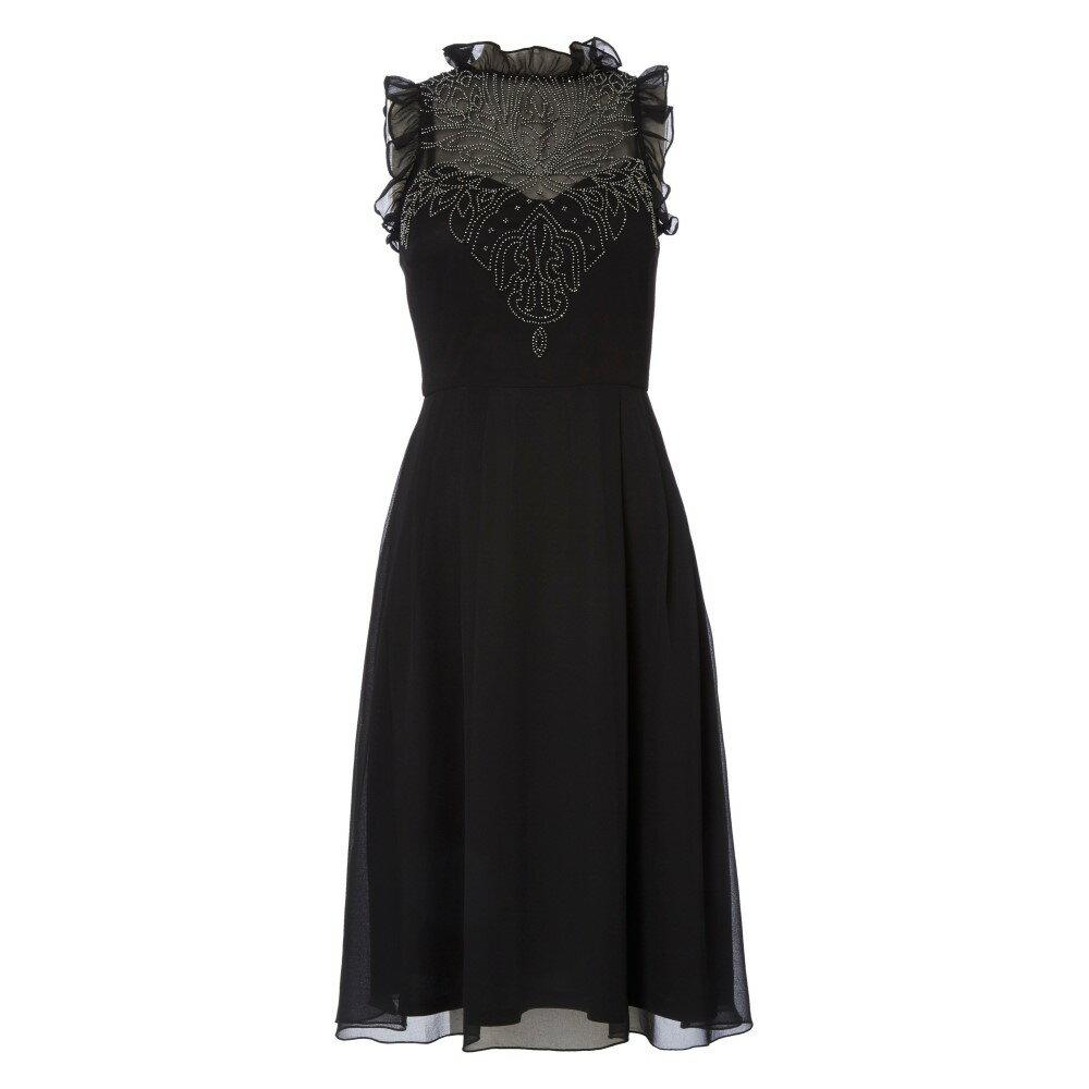 レシュマ レディース ワンピース・ドレス ワンピース【High Frill Skater Dress】black