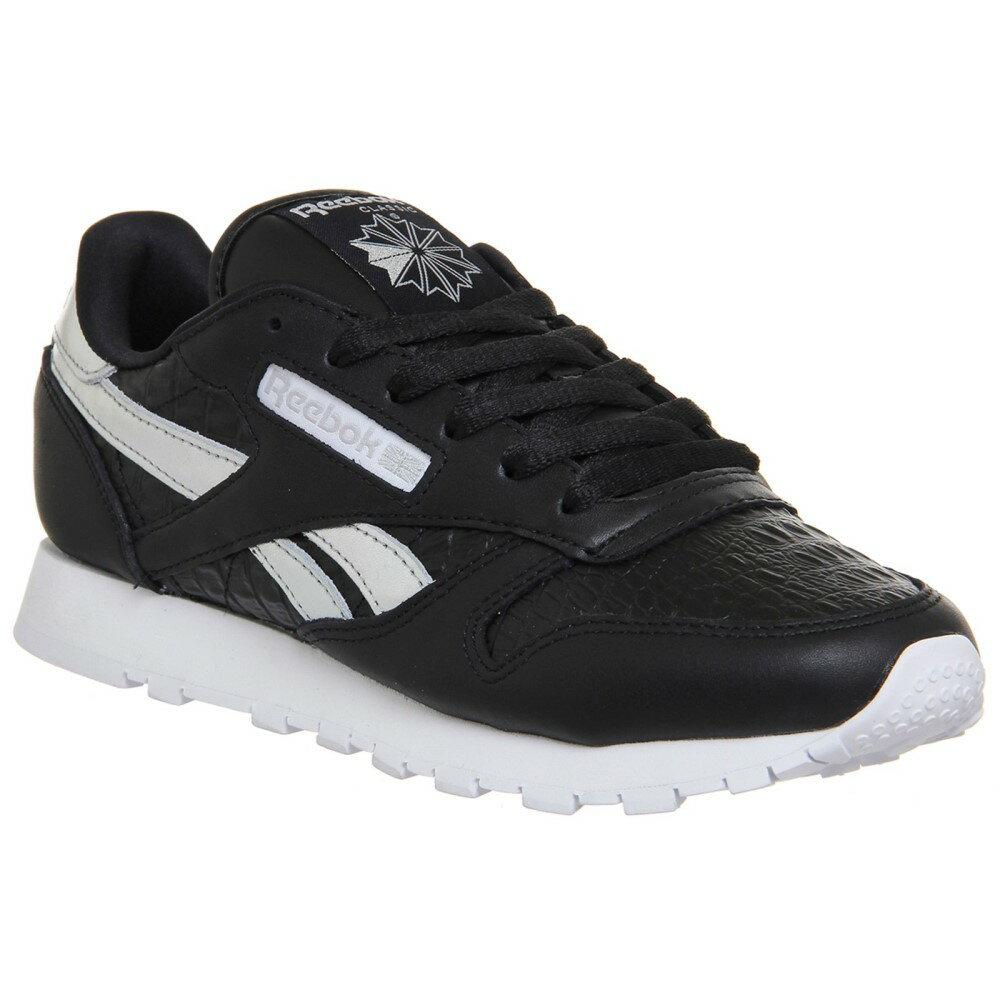 リーボック レディース シューズ・靴 スニーカー【Classic Leather Trainers】black