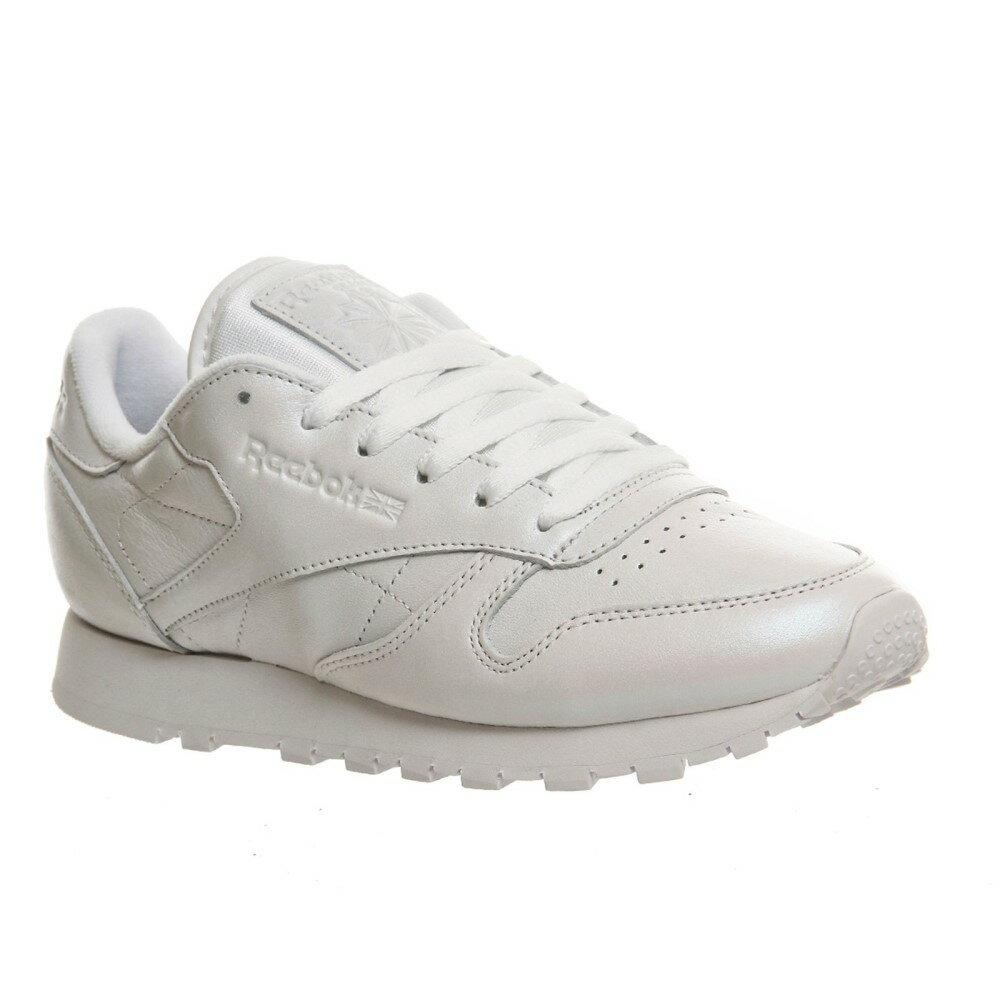 リーボック レディース シューズ・靴 スニーカー【Classic Leather Trainers】white