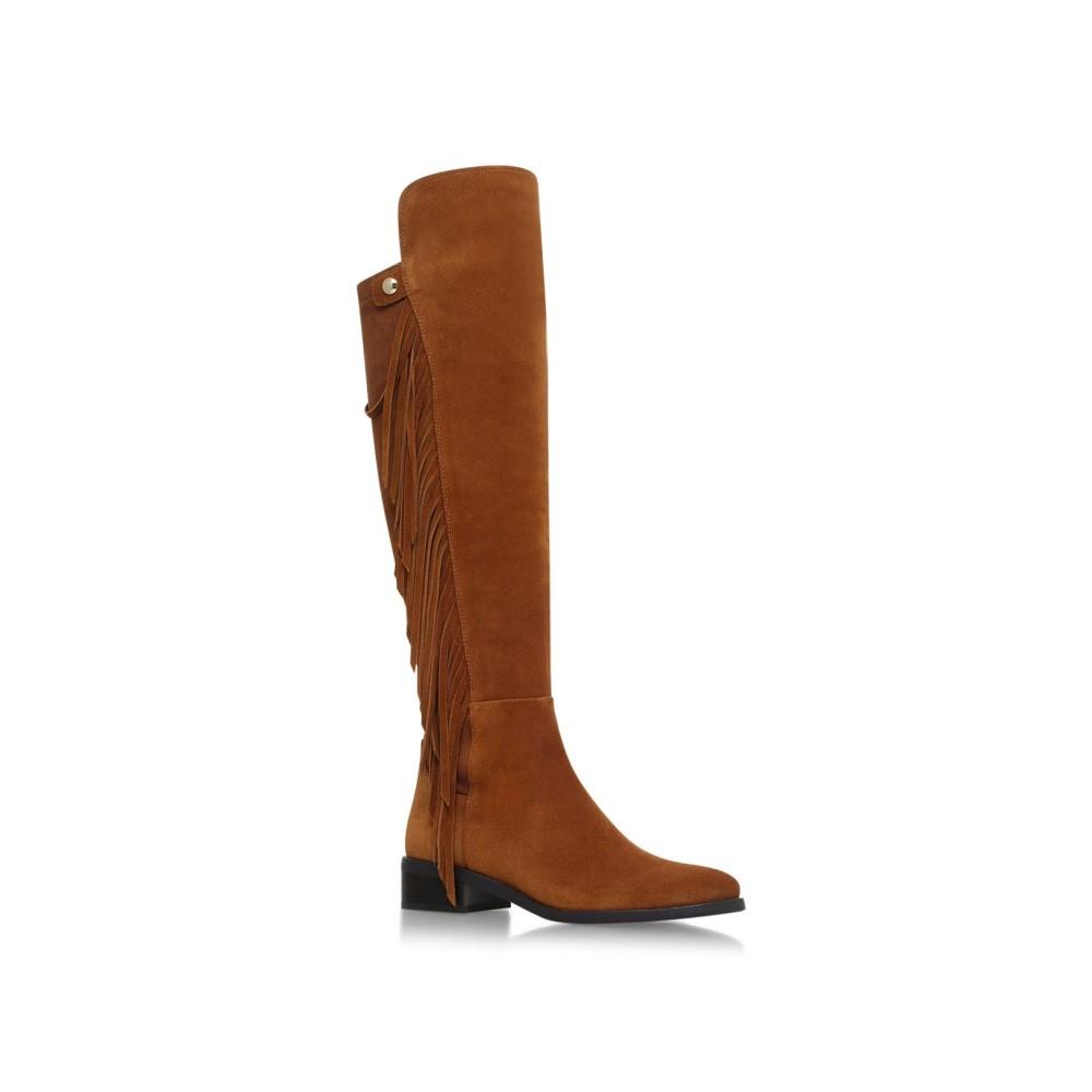 ヴィンス カムート レディース シューズ・靴 ブーツ【Sentina Low Heel Knee Boots】tan
