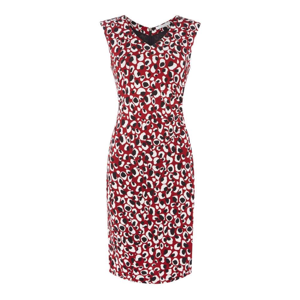 ヒューゴ ボス レディース ワンピース・ドレス ボディコンドレス【Epona Leopard Print Jersey Dress】multi-coloured