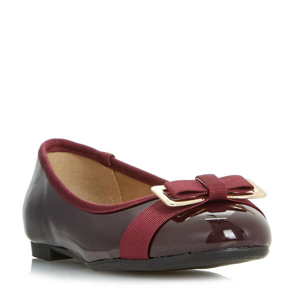 ヘッドオーバーヒールズ レディース シューズ・靴 スリッポン・フラット【Honor Bow Detail Ballerina Shoe】burgundy
