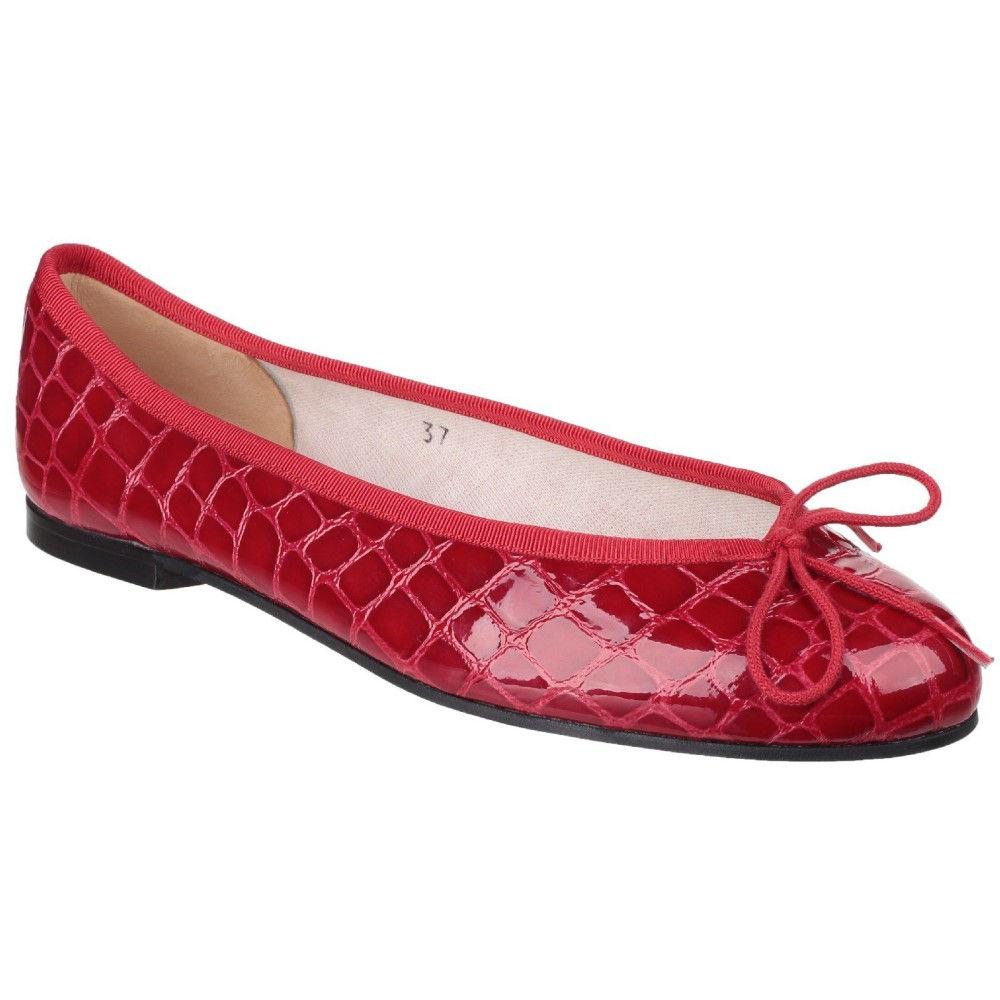 フレンチソール レディース シューズ・靴 パンプス【Henrietta Ballerina Pumps】red